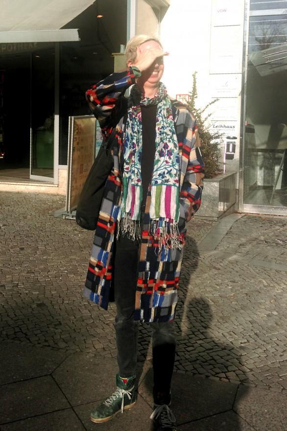 Ein bißchen Sonia Delaunay und iranischer Blumenschmück